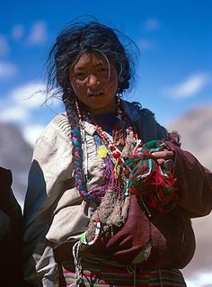 Portrait from Tibet