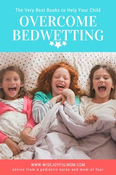 Books can be a great addition to bedwetting alarm therapy to help your child stop wetting the bed. The following books can help you as a parent understand how to better treat your child. There are also many books you can read with your child to let them know they are not alone on the...