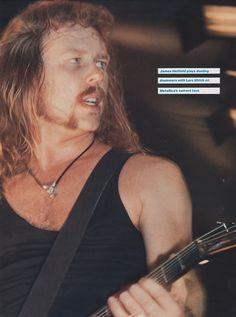 Sanne VanHoogmoed uploaded this image to 'MC/James'. See the album on Photobucket. Ron Mcgovney, Robert Trujillo, Dave Mustaine, James 3, Kirk Hammett, My Heart Hurts, James Hetfield, Cool Bands, Metallica
