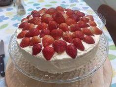 Simple Sponge Cake on Foodista