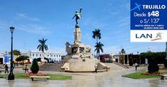 #CyberMami. Oferta a #Trujillo con #LAN. Regulaciones y compras en http://landing.costamar.com/Vuelos/Lima/Trujillo