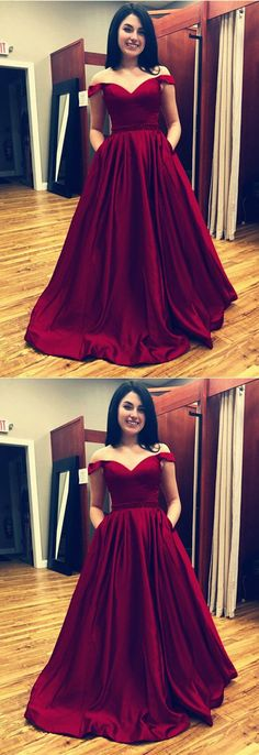 Sexy Off The Shoulder Prom Dresses Ball Gowns