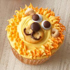 Cute lion cupcakes!