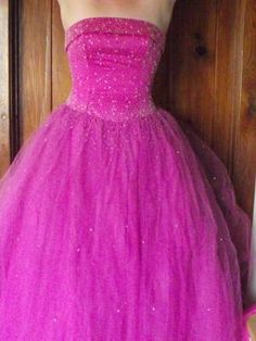 Fairytale Fuscia Princess Prom/Formal/Pageant Gown