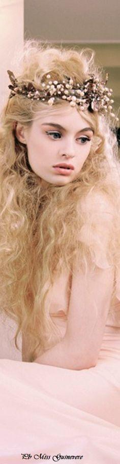 Fairy Crown, Haute Couture Fashion, Girly Girl, Her Hair, Camel, Nostalgia, Creativity, Feminine, Fantasy