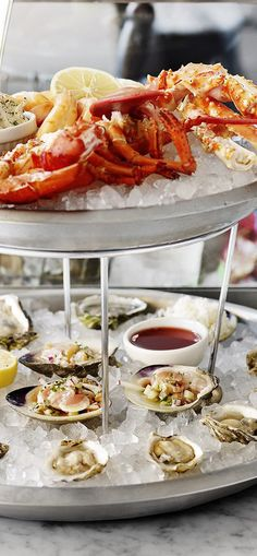 Clark's Oyster Bar: Oysters, martinis, and outdoor seating for the grown-ups.