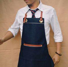 """ V I C T O R Y "" - Limited Edition - Japanese Selvedge & Vegetable-tanned Leather Straps  ""ONME APRON""   ************************ สนใจข้อมูลเพิ่มเติม www.facebook.com/messages/Onmeapron Line : onme.apron Tel : 0871142626 ~~~ ~~~ ~~~ ~~~ ~~~ #ผ้ากันเปื้อน #ผ้ากันเปื้อนยีนส์สายหนัง #denimapron #denimaprons #apron #handmade #canvasapron #leatherapron #baristaapron #cafe #coffee #bakery #restaurant #ร้านกาแฟสด #onmeapron #uniform"