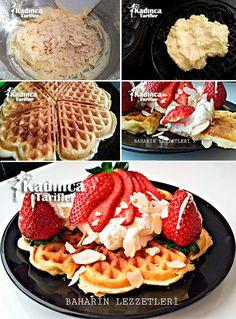 File Bademli Waffle Tarifi