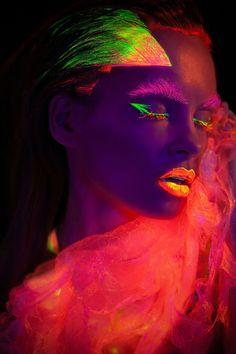 My Experimental Photo Portraits With Uv Light | Bored Panda