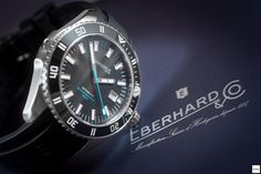 Eberhard Scafograf 300 - The Eberhard's diver's watch from the 60s...reloaded!