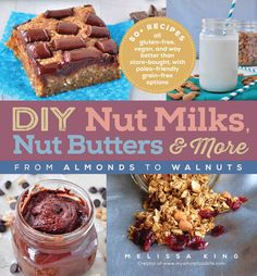 An essential resource.Alana Chernila, author of The Homemade Pantry Your all-in-one guide to making creamy milks, velvety butters, and satisfying treats from almonds, cashews, hazelnuts, and more! DIY