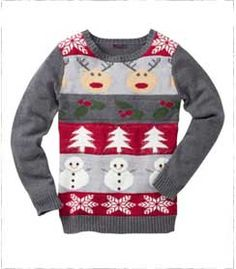 Ultimate Christmas Jumper Perfect for Christmas Jumper day at work. Novelty Christmas Jumpers, Christmas Jumper Day, Christmas Time, Christmas Sweaters, Knitwear, Jackets For Women, Lady, Coat, Winter