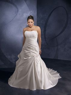 Beautiful Second Wedding Dress For Plus Size Bride