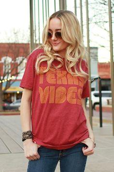 Texas Vibes T-shirt (2 Color Options)