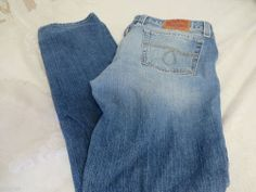 LUCKY BRAND JEANS LOLA STRAIGHT Size 16/33 7WD1229