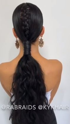 For more braid video tutorials just visit our website! The post Amazing Braid Hair Tutorial! Curly Hair Braids, Curly Hair Styles, Natural Hair Styles, Braided Hairstyles Tutorials, Box Braids Hairstyles, Breaking Hair, Long Box Braids, Cool Braids, Hair Videos