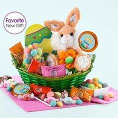Personalized Bunny Hugs Basket