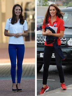 Herzogin Kate: Neuer Trubel um ihr Gewicht That was missing for the British royal family! Polo Outfits For Women, Polo Shirt Outfits, Duchess Of York, Duchess Kate, Lady Diana, Kate Middleton Stil, Herzogin Von Cambridge, Princess Katherine, Kate And Meghan