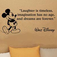 ~ Walt Disney