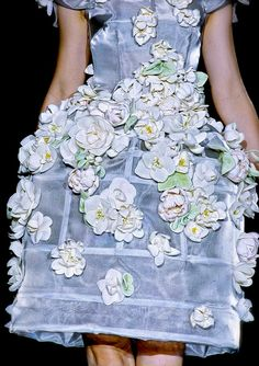 Dolce & Gabbana 3d floral embellishment