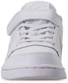 24ce980abae9 Nike Little Boys  Court Borough Low Casual Sneakers from Finish Line -  White 1.5