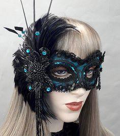 Renaissance+Masquerade+Masks | Lulu Mask - Click for full view