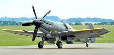Supermarine Spitfire Mk XIV WW2 Fighter.