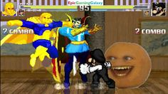 The Annoying Orange & Mario VS Doctor Fate & Doctor Strange In A MUGEN Match / Battle / Fight This video showcases Gameplay of The Annoying Orange And Mario VS Doctor Fate And Doctor Strange The Superhero In A MUGEN Match / Battle / Fight