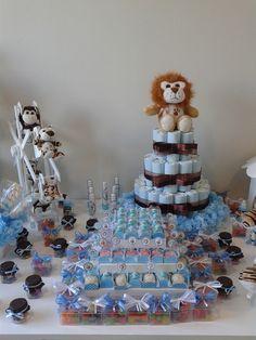 Bolo de fraldas http://www.elo7.com.br/festa-provencal-aluguel-kit-02/dp/40D499