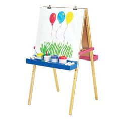 Melissa and Doug Deluxe Standing Easel  - Target Toy Craft, Gifts For Boys, Kids Christmas, Christmas Gifts, Kids Toys, Chalkboard Paper, Art Easel, Dry Erase Board, Melissa & Doug