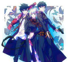 Rin, Shiemi, Yukio; Blue Exorcist
