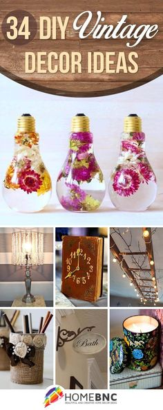 DIY Vintage Decorations