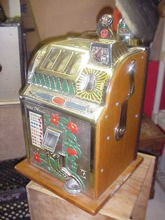 Mills antique slot machine parts states with casino resorts
