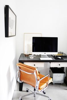 Before and After: An Office With All the Comforts of Home via @MyDomaine