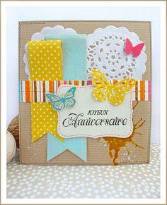 Scrap Plaisir: ** Une carte d'anniversaire pour une copine qui fête ses 11 ans **  http://scrap-plaisir.blogspot.com
