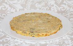 Pastel de judías verdes con boniato: una manera diferente de comer esta tradicional verdura.  #judías #verduras #pastelsalado #boniato #recetasana #recetariosano #juegodeblogueros