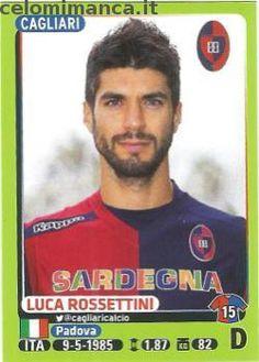 Calciatori 2014-2015: Fronte Figurina n. 36 Luca Rossettini