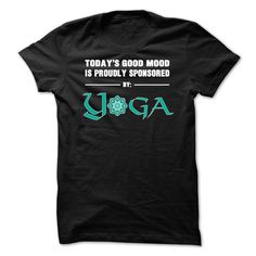 Yoga Good Mood T-Shirts, Hoodies. Check Price Now ==►…