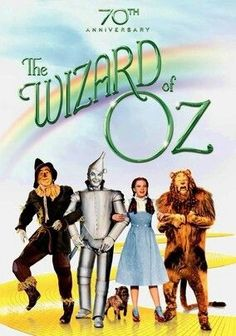 The Wizard of Oz (1939) One of the first color films