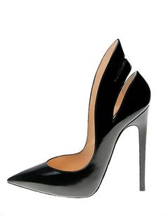 Black Patent Stiletto