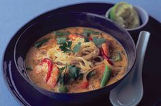 This is an amazing Thai-Style red curry soup that is gluten free , dairy free and egg free.
