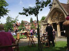 The annual fête at St Augustine's Church, Edgbaston.