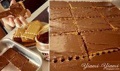 "YIAMI-YIAMI: ""Πουά"" σαντουιτσάκια με παγωτό καραμέλα! Greek Desserts, Dessert Recipes, Pie, Ice Cream, Sweets, Homemade, Cooking, Blog, Cakes"