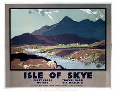 First Class hotels Isle of SkyeLNER by Mallaig.. print for the hallway?