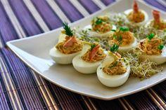 Jajka faszerowane - Przepisy na fantastyczne faszerowane jajka | Przepisy kulinarne - Codogara.pl