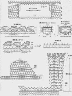 Häkelmuster Fundgrube: Tunika mit Trompetenärmeln