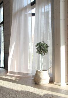 #scandinavianstyle #homedecor #curtains #olivetree Scandinavian Style, Olive Tree, First Home, Curtains, Living Room, Instagram, Home Decor, Blinds, Decoration Home
