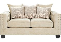 Shop for a Cindy Crawford Home Sidney Road Loveseat at Rooms To Go. Find Loveseats that will look great in your home and complement the rest of your furniture.