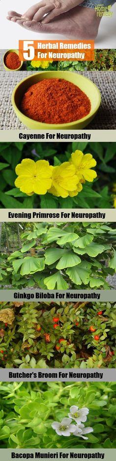 Top 5 Herbal Remedies For Neuropathy