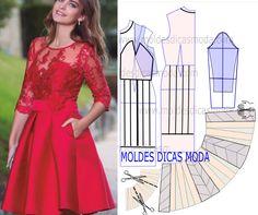 Red Party Dress...♥ Deniz ♥
